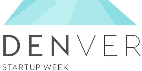 Denver Startup Week Presenter Training #1 tickets
