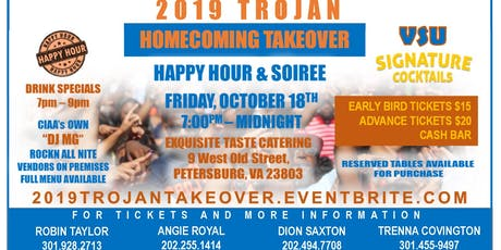 2019 Trojans Homecoming Takeover tickets