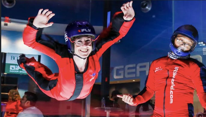 Fly High with net2phone!  Join us for a heart racing Lunch & Learn at iFly