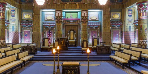 Ancient Egypt & Sound Healing  with the Crystal Bowls at The Masonic Temple