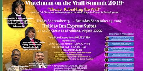 Watchmen on the Wall Prayer Summit tickets