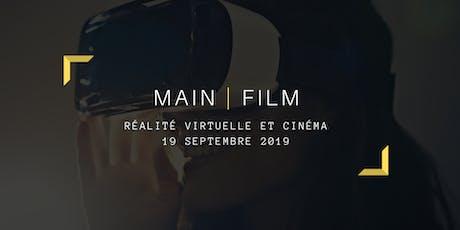 Réalité virtuelle et cinéma billets