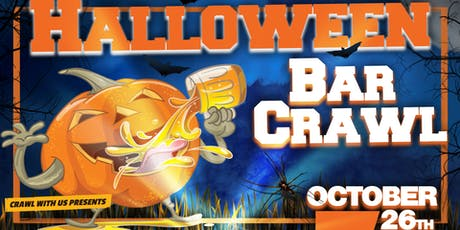 Halloween Bar Crawl - Master tickets