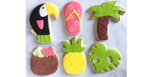 Tropical Beginner Cookie Decorating Class