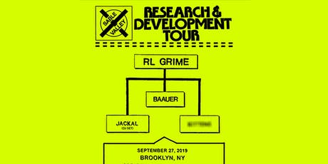 RL Grime - Research & Development Tour tickets
