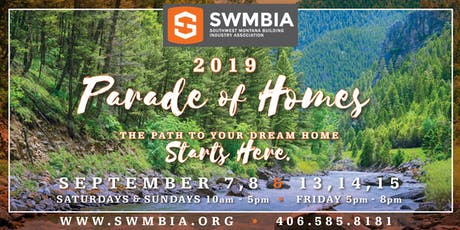 Parade of Homes tickets