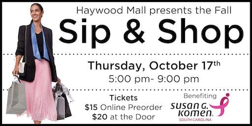 Haywood Mall Fall Sip & Shop 2019
