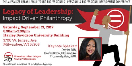 Milwaukee Urban League Young Professionals: Personal & Professional Development Conference tickets