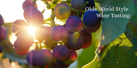 Olde World Style Wine Tasting tickets