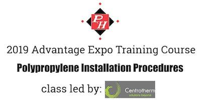 Centrotherm Training - Advantage Expo 2019