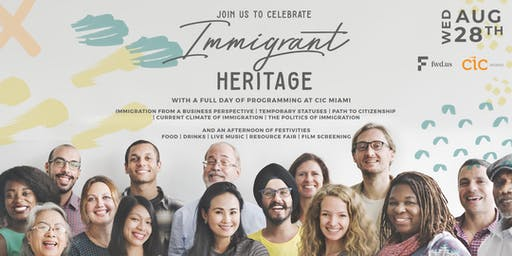 Work from CIC - Immigrant Heritage