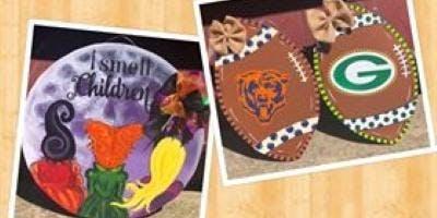 Spirro's Football/ Hocus Pocus Paint Party