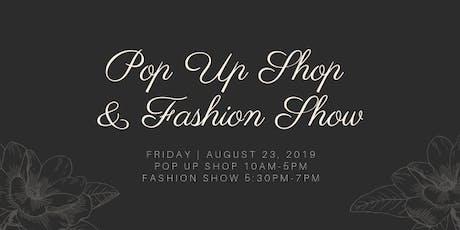 Pop Up Shop & Fashion Show tickets