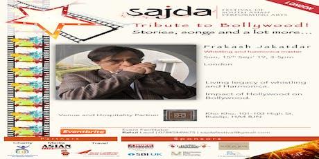 Tribute to Bollywood with Prakash Jakatdar (15/09) tickets
