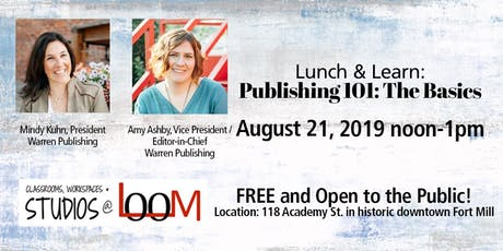 Lunch and Learn: Publishing 101: The Basics tickets