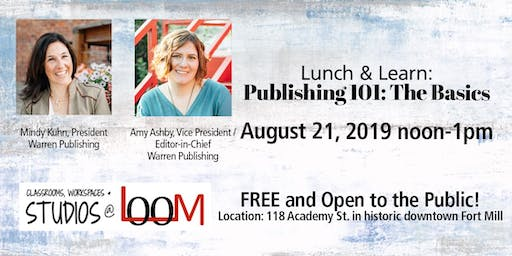 Lunch and Learn: Publishing 101: The Basics
