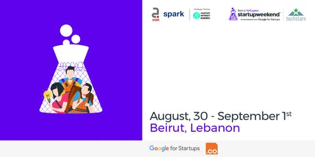Techstars Startup Weekend Beirut - Refugee Edition tickets