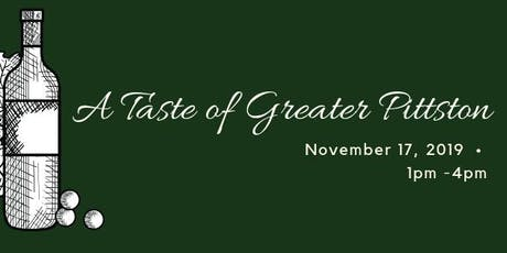 A Taste of Greater Pittston  tickets