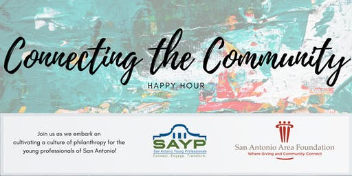 Connecting the Community Happy Hour