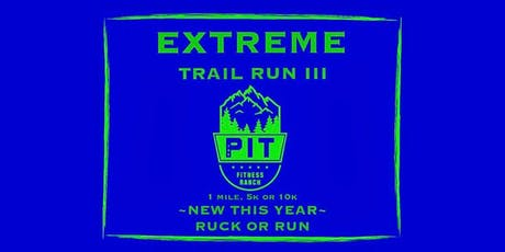 Three Rivers Extreme Train Run or Ruck tickets