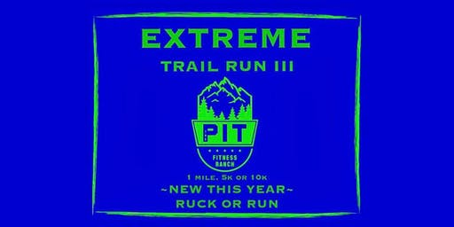 Three Rivers Extreme Train Run or Ruck