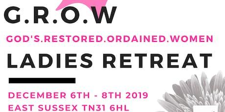 G.R.O.W LADIES RETREAT tickets