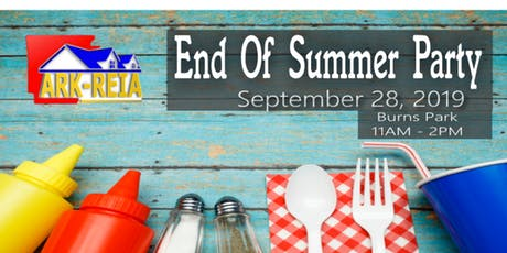 ArkREIA Burns Park Free Lunch & End Of Summer Party entradas