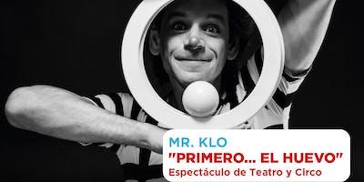 Mr Klo, Espectáculo infantil.   TEATRO MUNICIPAL PEPE SORIANO
