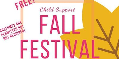 Child Support Fall Festival