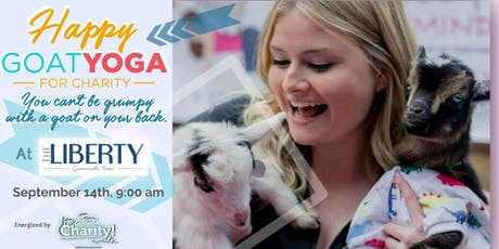 Happy Goat Yoga-For Charity w/ ALPACAS at The Liberty Lofts Gainesville tickets