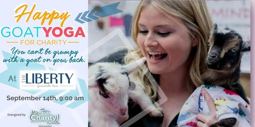 Happy Goat Yoga-For Charity w/ ALPACAS at The Liberty Lofts Gainesville