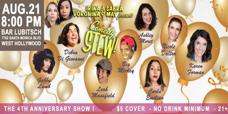 Comedy Stew: The 4th Anniversary Show! tickets
