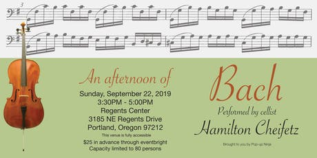 An Afternoon of Bach with Hamilton Cheifetz tickets
