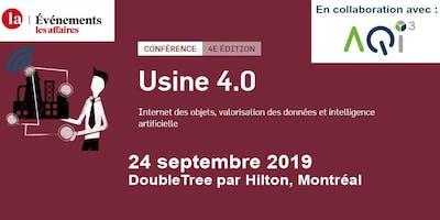 Conférence Usine 4.0 - Événements Les Affaires