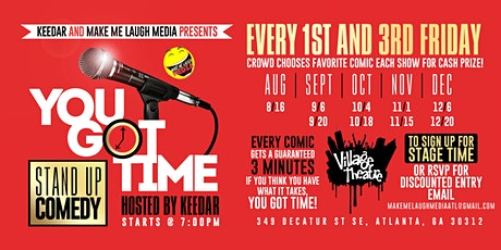 You Got Time Comedy Competition tickets