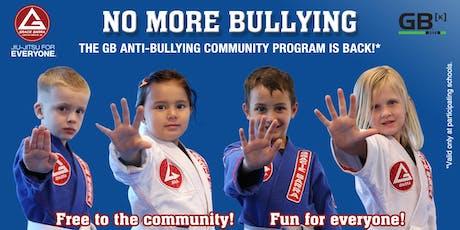 Free Anti-Bullying and Jiu-Jitsu Classes at Gracie Barra Centennial  tickets