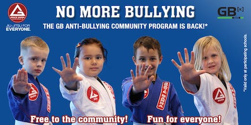 Free Anti-Bullying and Jiu-Jitsu Classes at Gracie Barra Centennial