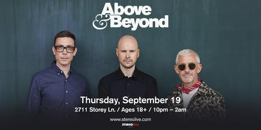 Above & Beyond - Stereo Live Dallas