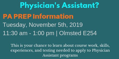 Physician's Assistant Preparation: PA Prep tickets