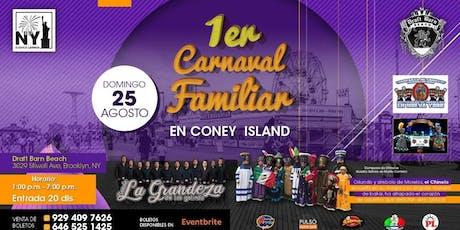 1er Carnaval Familia en Coney Island tickets
