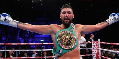 An evening with Tony Bellew - Leicester