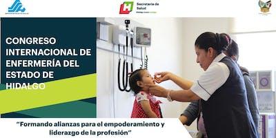 CONGRESO INTERNACIONAL DE ENFERMERÍA  DEL ESTADO DE HIDALGO