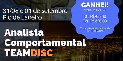 Formação Analista Comportamental TEAMDISC Profiler - Rio de Janeiro