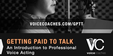 Mahwah- Getting Paid to Talk, An Intro to Professional Voice Overs tickets