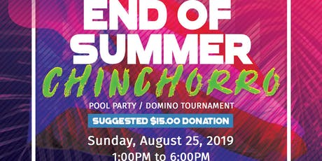 Riverside Fundraiser: End of Summer Chinchorro tickets