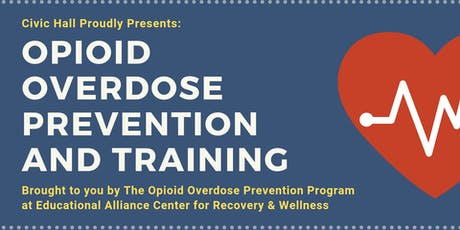 Opioid Overdose Prevention and Training tickets
