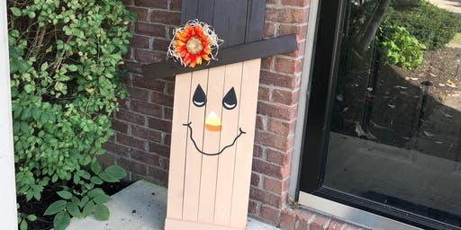 Build a Scarecrow Porch sign class