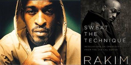 Musician and Hip Hop legend RAKIM at Books Inc. Alameda tickets