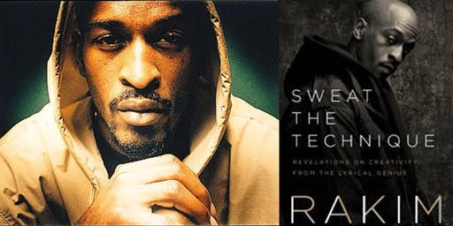 Musician and Hip Hop legend RAKIM at Books Inc. Alameda