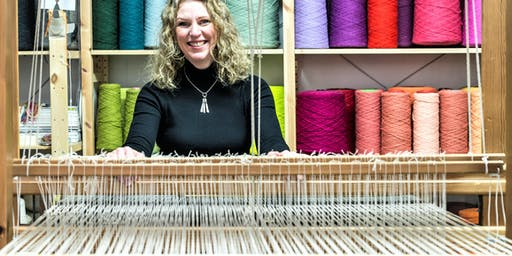 ARThub15- Angie Parker:  Learn to Weave in Colour